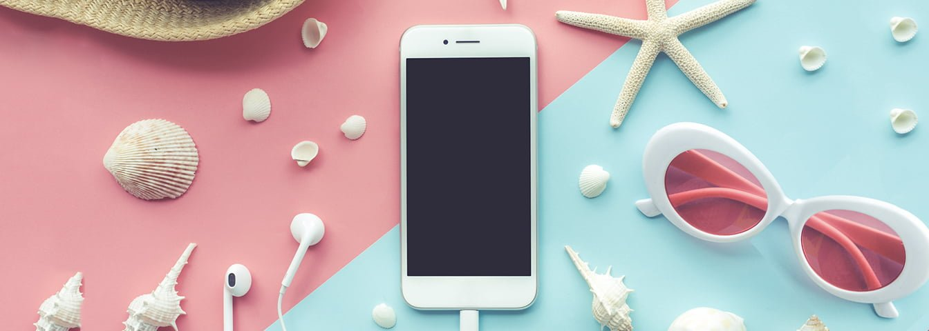 How to care for your phone in hot weather? 3 simple Cyber Tips.