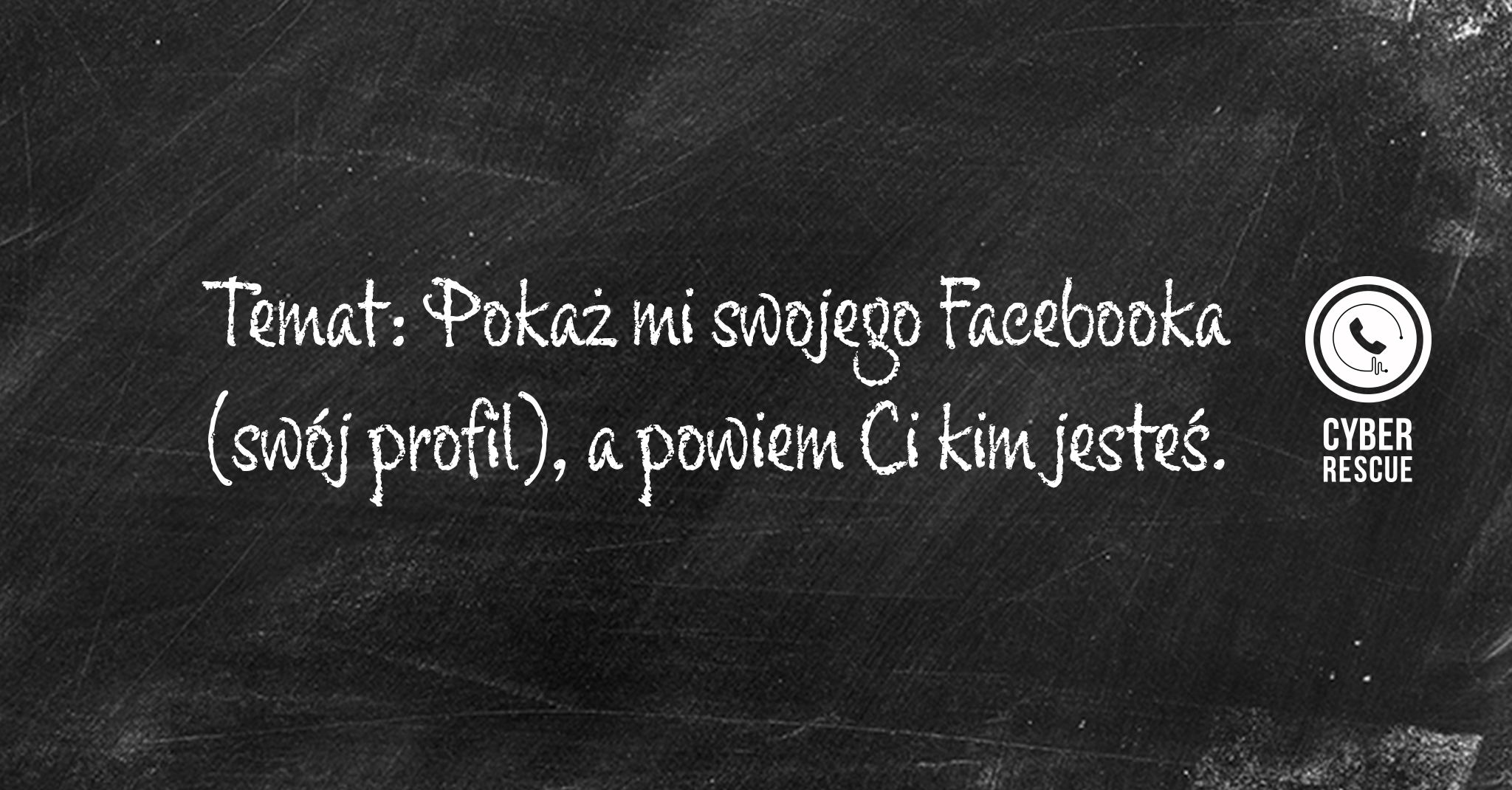Lekcja 2: Pokaż mi swojego Facebooka, apowiem Ci kim jesteś