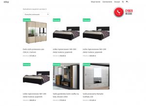 Ten e-sklep oferuje wyÅ'Ä…cznie 6 produktów, asam wyglÄ…d strony jest bardzo uproszczony. Nastronie namarne jest nam szukać regulaminu, kontaktu, czypolityki prywatnoÅ›ci.