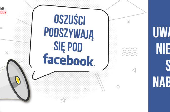 Kolejne oszustwo związane zFacebookiem!